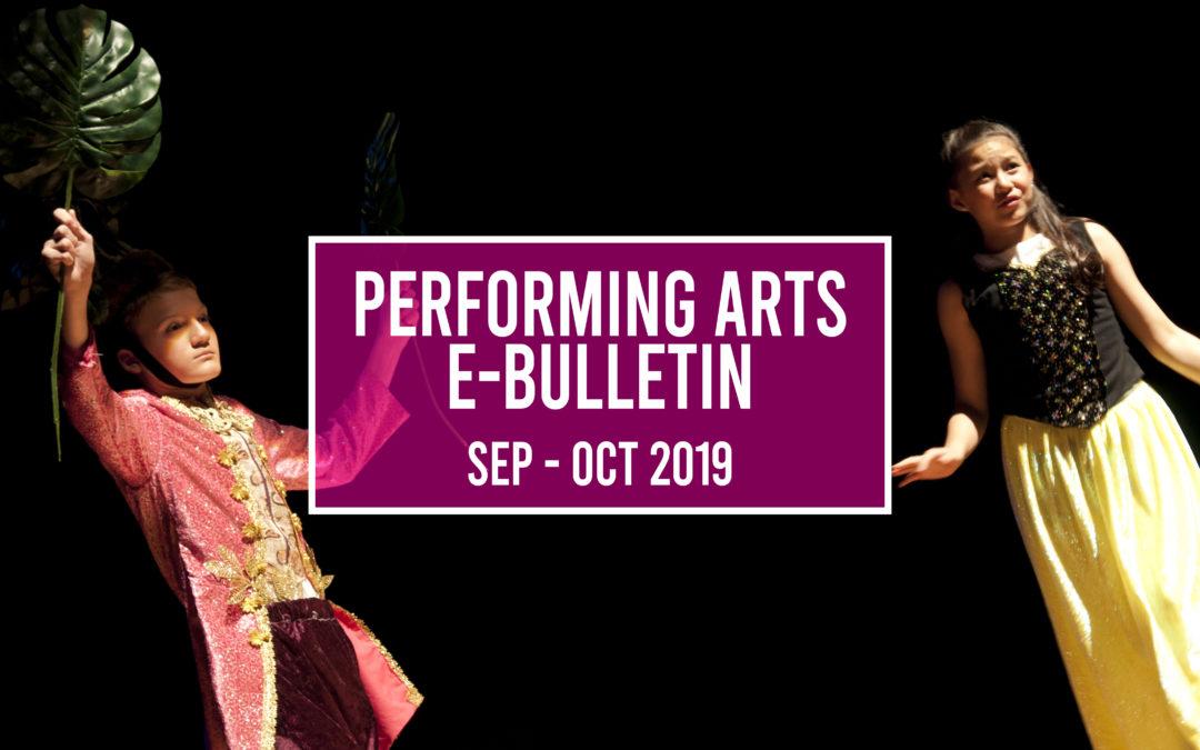 Performing Arts e-Bulletin